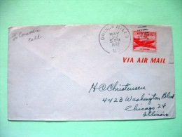 USA 1947 Cover Owings Mills To Chicago - Plane - United States