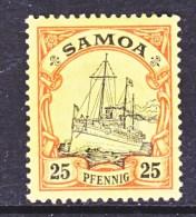 GERMANY  SAMOA  61  * - Colony: Samoa