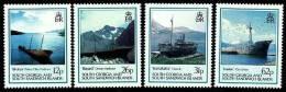 South Georgia 1990 - Bateaux Naufragés - 4v Neufs*** (MNH) - Géorgie Du Sud