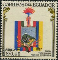 JA0203 Ecuador 1960 State Emblem 1v MNH - Equateur