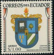 JA0205 Ecuador 1960 State Emblem 1v MNH - Equateur