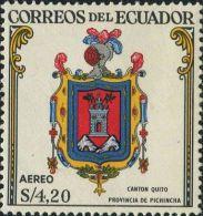 JA0206 Ecuador 1960 State Emblem 1v MNH - Equateur