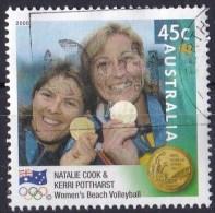 Australia 2000 Olympic Gold Medallists 45c Women's Volleyball Used - - 2000-09 Elizabeth II