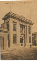 Sagua La Grande  Banco Canada The Royal Bank Of Canada Banque  Edit Pompilio Montero - Kuba