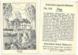 Elgg - Die Burg  (Schweizer Jugend Bildchen)          Ca. 1930 - Geografía