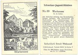 Rorschach - Schloss Wartensee  (Schweizer Jugend Bildchen)          Ca. 1930 - Géographie