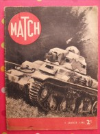 Revue Match N° 79 Du 4 Janvier 1940. 44 Pages. Seconde Guerre Mondiale - Livres, BD, Revues