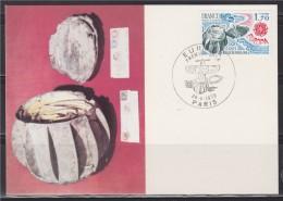 = Carte Postale Boule De Moulins 1870-1871 Bray Sur Seine 1er Jour Paris 28 04 1979 N°2047 - Europa-CEPT