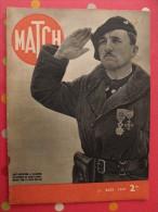 Revue Match N° 90 Du 21 Mars 1940. 44 Pages. Seconde Guerre Mondiale. Winston Churchill - Livres, BD, Revues