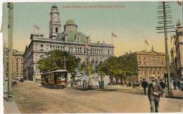 Sydney Lands Office And Stock Exchange Bourse Tramway Tram  P. Used  No 1137 Giovanardi - Sydney