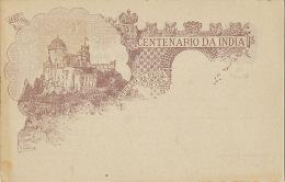 Centenario Da India Entier Postal Ill. Cameiro Timor - Timor Orientale