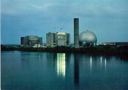 AVOINE CHINON - Vue Illuminée De La Centrale Nucléaire - Electricité De France - Indre-et-Loire         (3549) - Chinon
