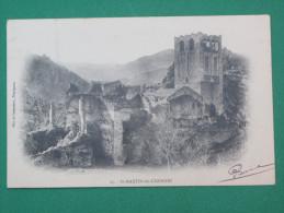 Saint Martin Du Canigou Ruines Cpa 1904 - Francia
