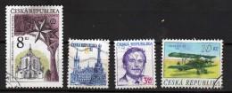 République Tcheque Y&t N°117.18.69.126.. Oblitérés - Gebraucht