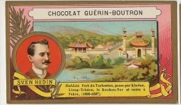Sven Hedin Suedois Explorateur Turkestan Khotan Liang Tcheou Koukou- Nor Pekin 1896 - Tibet