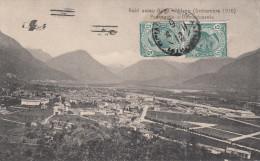RAID AEREO BRIGA - MILANO (SETTEMBRE 1910) / PASSAGGIO A DOMODOSSOLA - Italia
