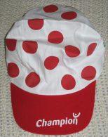 Casquette Publicitaire Champion 2008 - Meilleur Grimpeur Tour De France - Caps
