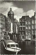 AK Amsterdam  Oud Amsterdam 't Kolkie Motorboot 1961 #12 - Amsterdam