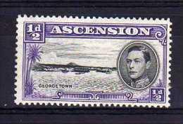 Ascension - 1944 - ½d Definitive (Perf 13) - MH - Ascension (Ile De L')