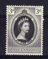 Ascension - 1953 - QEII Coronation - MH - Ascension (Ile De L')