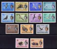Ascension - 1963 - Birds Definitives (Part Set) - MH - Ascension (Ile De L')