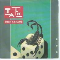 """45 Tours SP -  TALK TALK   -  EMI 2001197  """" SUCH A SHAME """" +  1 - Vinyles"""