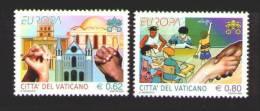 2006 - VATICANO - EUROPA CEPT - L´INTEGRAZIONE / INTEGRATION. MNH. - 2006