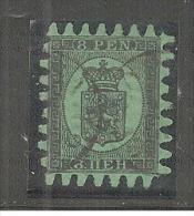FinMi.Nr.6C, FINNLAND -  Fehlerfrei! O - 1856-1917 Russian Government