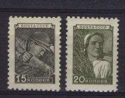 Sowjetunion Michel No. 1331 - 1332 ** postfrisch