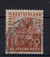 Bizone Michel No. 107 gestempelt used