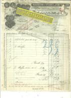 75 - Paris - PARIS-3e - Facture THEVENON - Manufacture D'alphabets Et Vignettes – 1916 - REF1 - 1900 – 1949