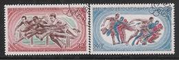 Republique Du Tchad - 1968 - 2 Valori Obliterati Di P.A. Dedicati Ai Giochi Olimpici Di Messico - In Ottime Condizioni. - Zomer 1968: Mexico-City