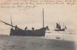 De Panne      Préparatifs Pour La Pêche  Vissersboten         Scan 6905 - De Panne