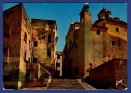 2B CALVI Cathédrale St Jean-Baptiste Située Dans La Haute-Ville Au Sommet De La Citadelle - Calvi