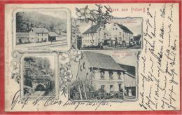 67 - GRUSS Aus PUBERG - Bahnhof - Gare - Wirtschaft Georg GREINER - Kirche - Schulhaus - Tunnel - France