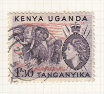 QUEEN ELIZABETH II - 1954 - Kenya, Uganda & Tanganyika