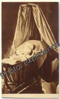 Photo Cdv XIX Post Mortem Enfant Mort Berceau Dead Baby Child 1870 LYON - Old (before 1900)