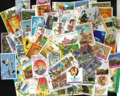 Pakistan 1000 Different Used Stamps 1947 To Date - Lots & Kiloware (mixtures) - Min. 1000 Stamps