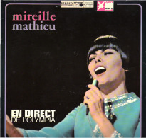 * LP *  MIREILLE MATHIEU  EN DIRECT DE L'OLYMPIA (Germany 1969 Stern Edition) - Vinylplaten