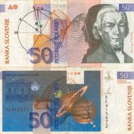 Banknote 50 Tolar Slowenien Slovenija Slovenia Note Petdeset Tolarjev Schein SIT Geldschein Papiergeld Paper Money - Slowenien