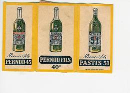 PAPIER A CIGARETTES MARQUE PERNOD FILS 40° - Autres Collections