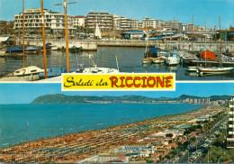 Riccione - La Darsena - Lungomare E Spiaggia - Italie