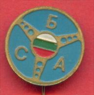 F1280 / TRANSPORT - SBA -  Union Of Bulgarian Motorists - Bulgaria Bulgarie Bulgarien Bulgarije - Badge Pin - Verenigingen