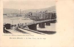 34 - Bédarieux - Le Pont Vieux, Vue De Neige - Bedarieux