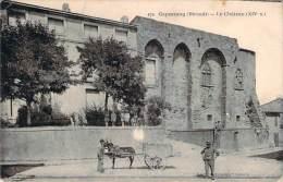 34 - Capestang - Le Château, XIVe Siècle - Capestang