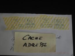 LETTRE FRANCE AVEC EMA EVREUX CTC - EURE - - Marcophilie (Lettres)
