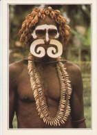 PAPUA-NEW GUINEA.  Nouvelle-Guinée. Guerrier Asmat  -  New Guinea. Asmat Warrior - Papouasie-Nouvelle-Guinée