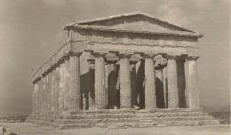 SICILIA - AGRIGENTO - Tempio Della Concorda  - Foto Ferrania 1956 - Agrigento