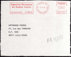 """France 1974. EMA """"Exposition Permanente Des Produits Coréens"""", Paris. Permanent Exhibition Of Corean Products - Corée Du Sud"""