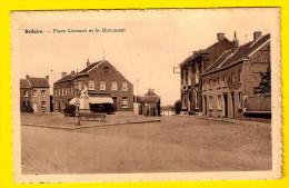 BELLAIRE : PLACE LEONARD ET LE MONUMENT AUX MORTS  =  BEYNE-HEUSAY  - Edition Maison Bonomme Moise TOP QUALITY A243 - Beyne-Heusay